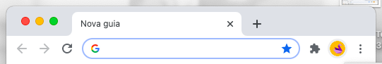 Barra de pesquisa para do Chrome